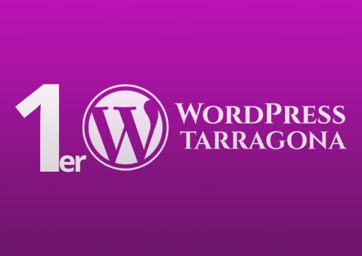 Primera Meetup WordPress Tarragona