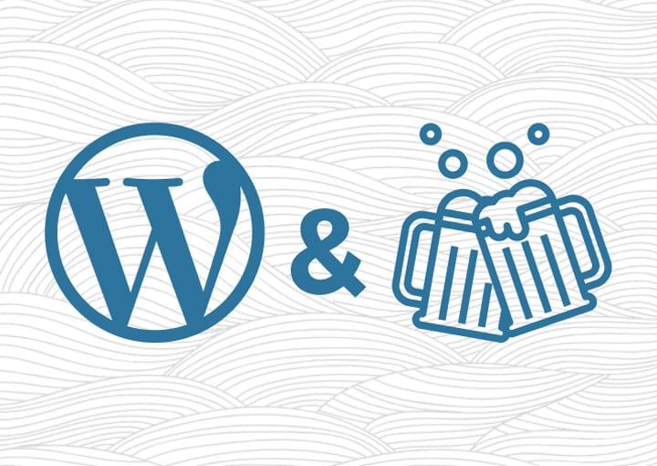 WordPress and Beers